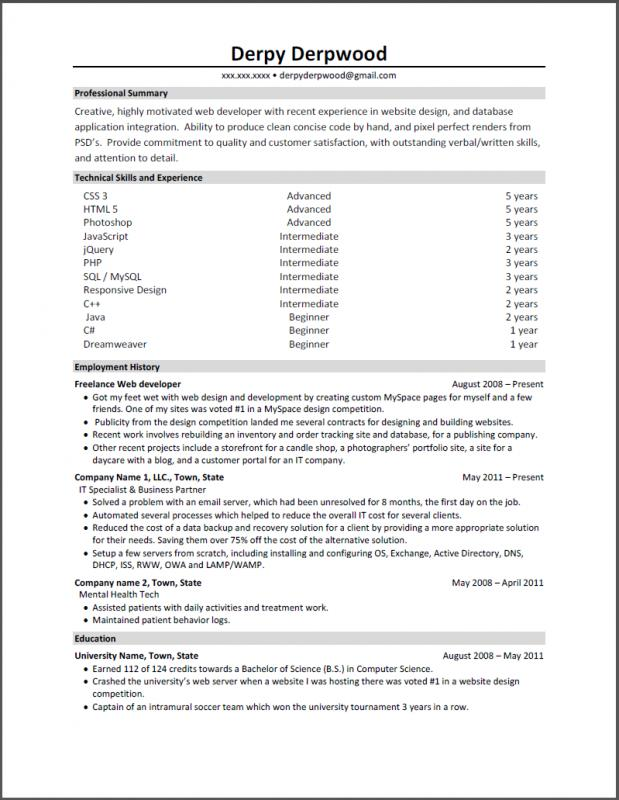 front end developer resume radioberacahgeorgia tk