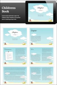 children's book template childrensbook