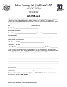 doctor's note to return to work doctor excuse template