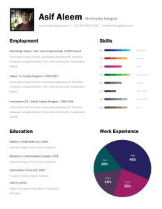 page resume template one page resume template