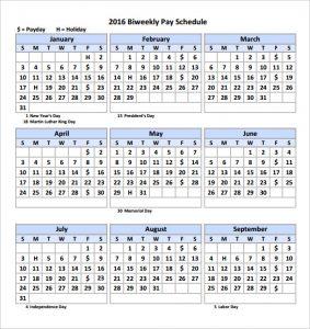 biweekly payroll calendar biweekly pay calendar template printable