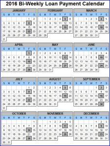 biweekly payroll calendar bi weekly payment cal