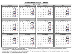 biweekly payroll calendar friday calendar