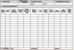 hour schedule template equipment inventory template