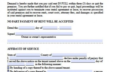 day eviction notice florida florida day notice to quit late rent x