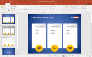day plan template powerpoint day plan powerpoint template