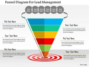 day sales plan funnel diagram for lead management flat powerpoint design slide