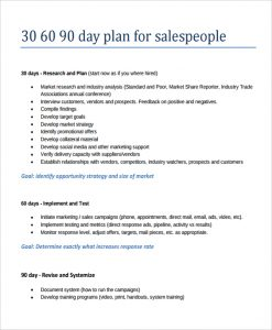 day sales plan template day sales action plan