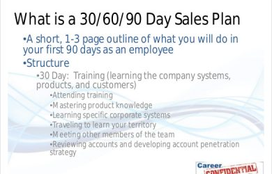 days sales plan template day sales plan sample template