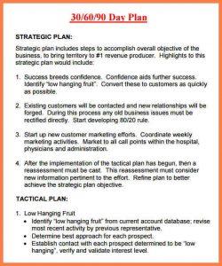 sales plan sales plan day plan template free