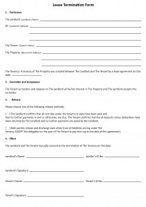 day notice to landlord california template leaseterminationform