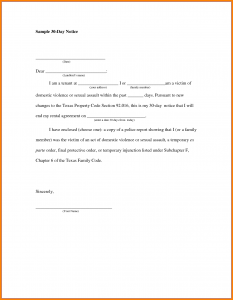 30 day notice to move template business day notice to move day move out notice notice to vacate apartment template picture day move thecheapjerseys Choice Image