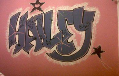 d graffiti letters aab z