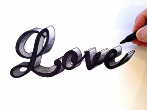 d graffiti letters how to draw love in d how to draw love in d stepstep drawing arts