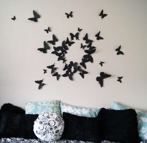 d wall art d butterfly wall art