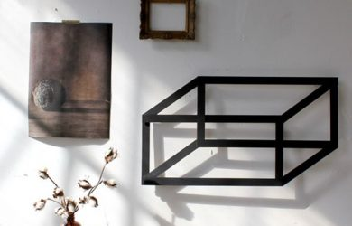 d wall art diy geometric art shadow