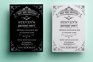 th birthday invitation template o
