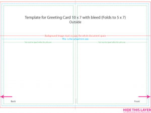 x postcard template greeting card template