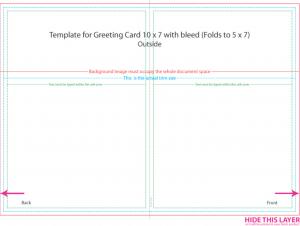 x postcard template greeting card template