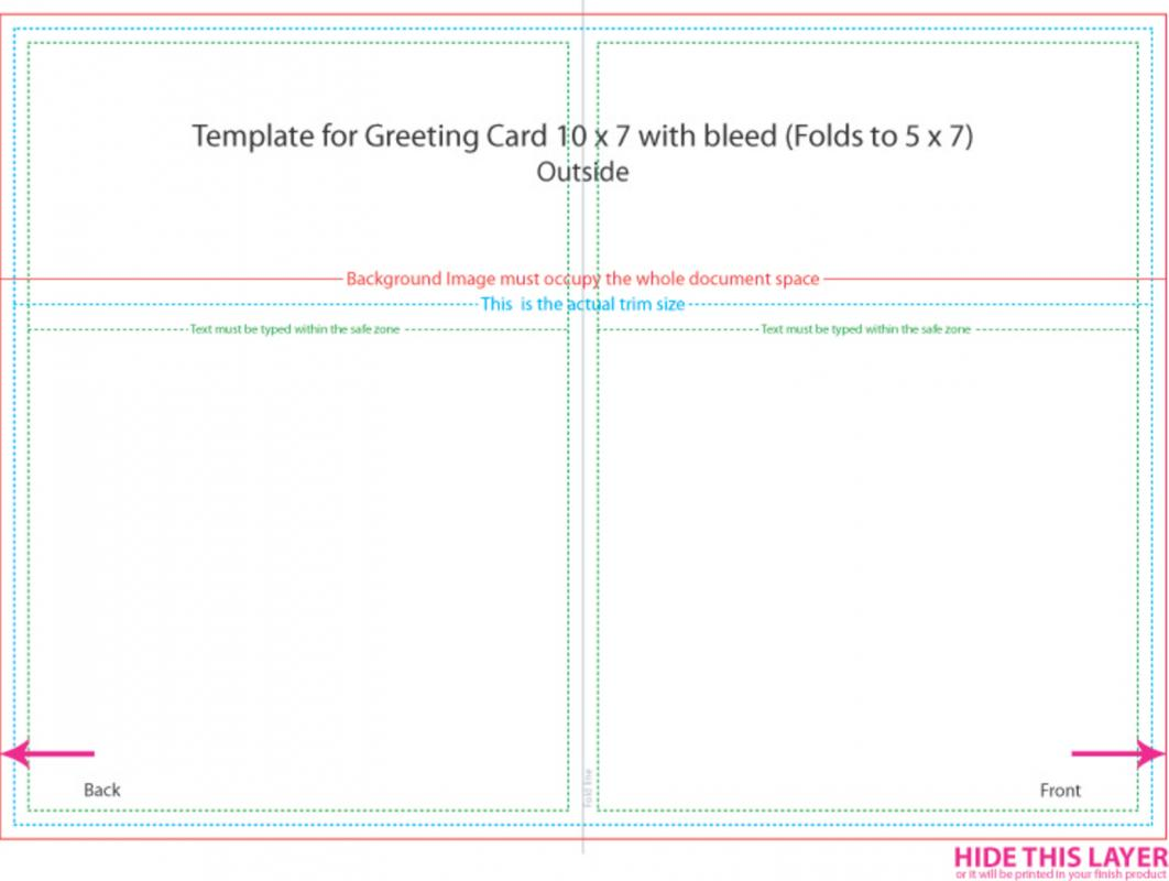 5x7 card template