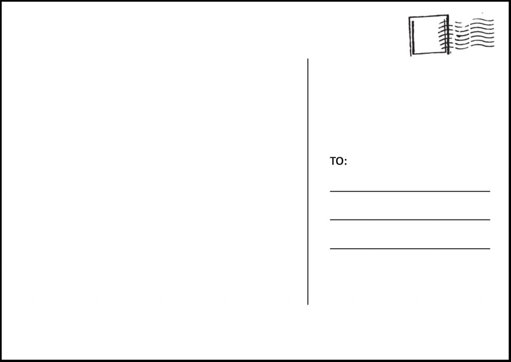 52157 postcard template template business