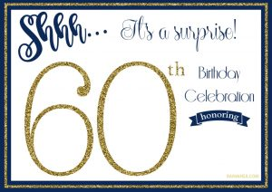 th birthday invitation free printable golden surprise th birthday invitation template