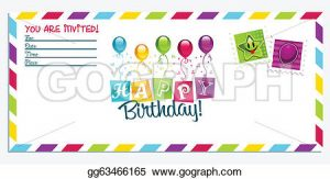 th birthday invitation happy birthday invitation card gg