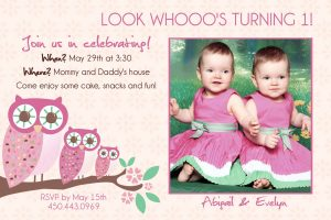 th birthday invitations twin birthday invitations