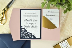 a envelope template diy wedding invitation lace laser cut pocket