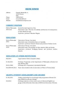 academic curriculum vitae academic curriculum vitae