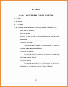 acceptance letter template appendices format example