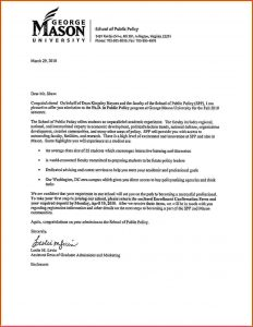 acceptance letter template letter of acceptance phdacceptance