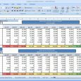 accounting journal template business spreadsheet of expenses and income