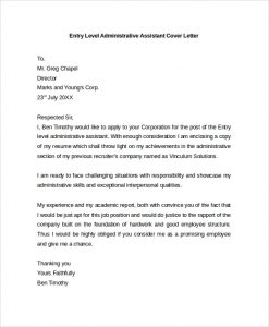 Administrative assistant cover letter template business administrative assistant cover letter administrative assistant cover letter example thecheapjerseys Gallery