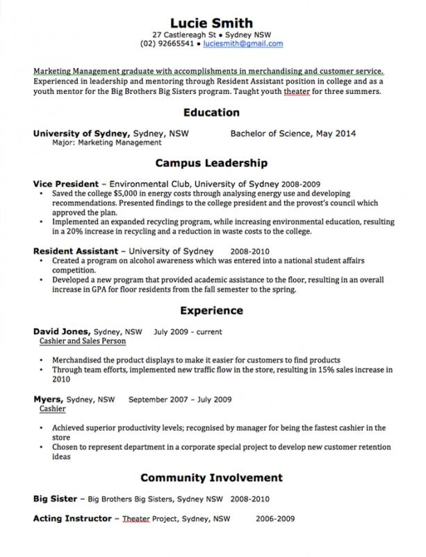 Administrative Assistant Resume Templates  Student Assistant Resume