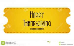 admission ticket template happy thanksgiving ticket yellow turkey