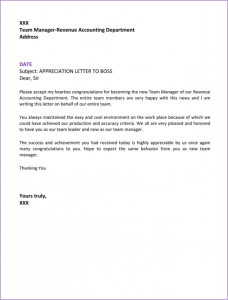 adoption reference letter appreciation letter to boss x