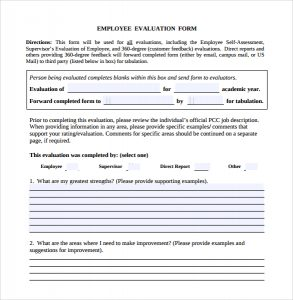 aia documents free download download employee evaluation form