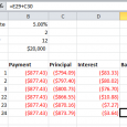 amortization schedule example loan amortization schedule