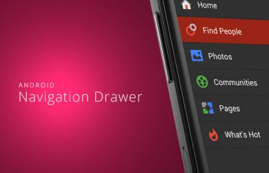 android app template android navigation drawer slider menu