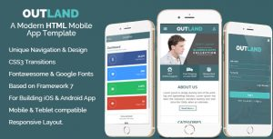 android app template image preview