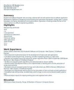 android developer resume experienced resume format for software developer