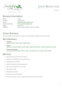 android developer resume resume cv senior php developer javier valderrama