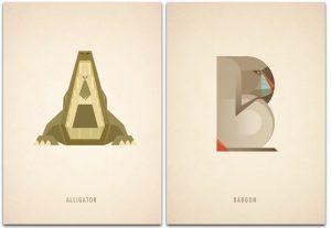 animal alphabet letters animal alphabet