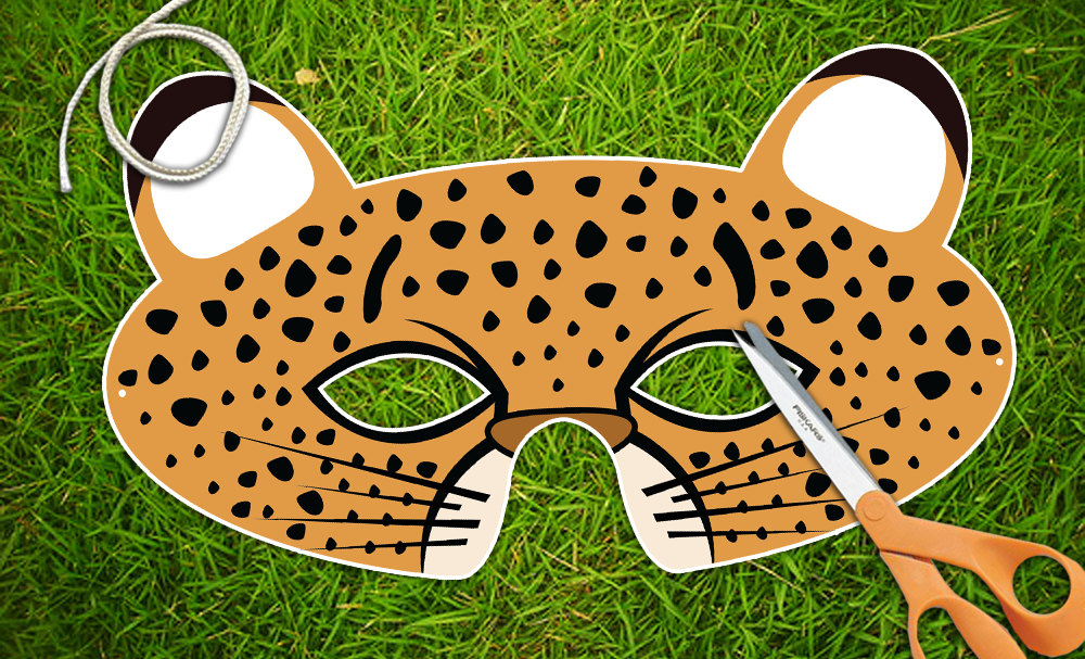 animal masks template