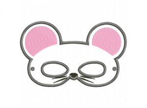 animal masks template mouse mask x hoop
