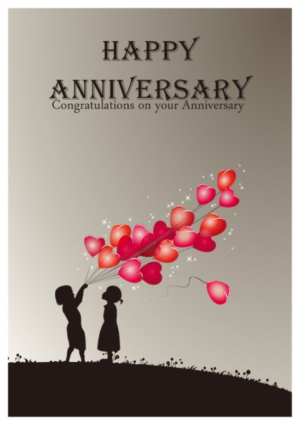 Anniversary Card Template | Word Anniversary Card Template Kordur Moorddiner Co