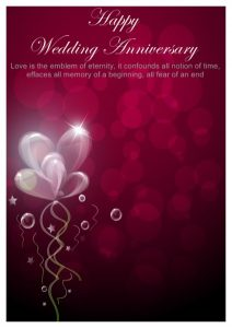 anniversary card template anniversary