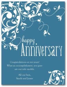 anniversary card template img page