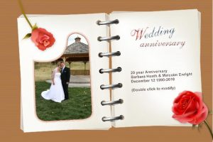 anniversary card template weddinganniversarycards